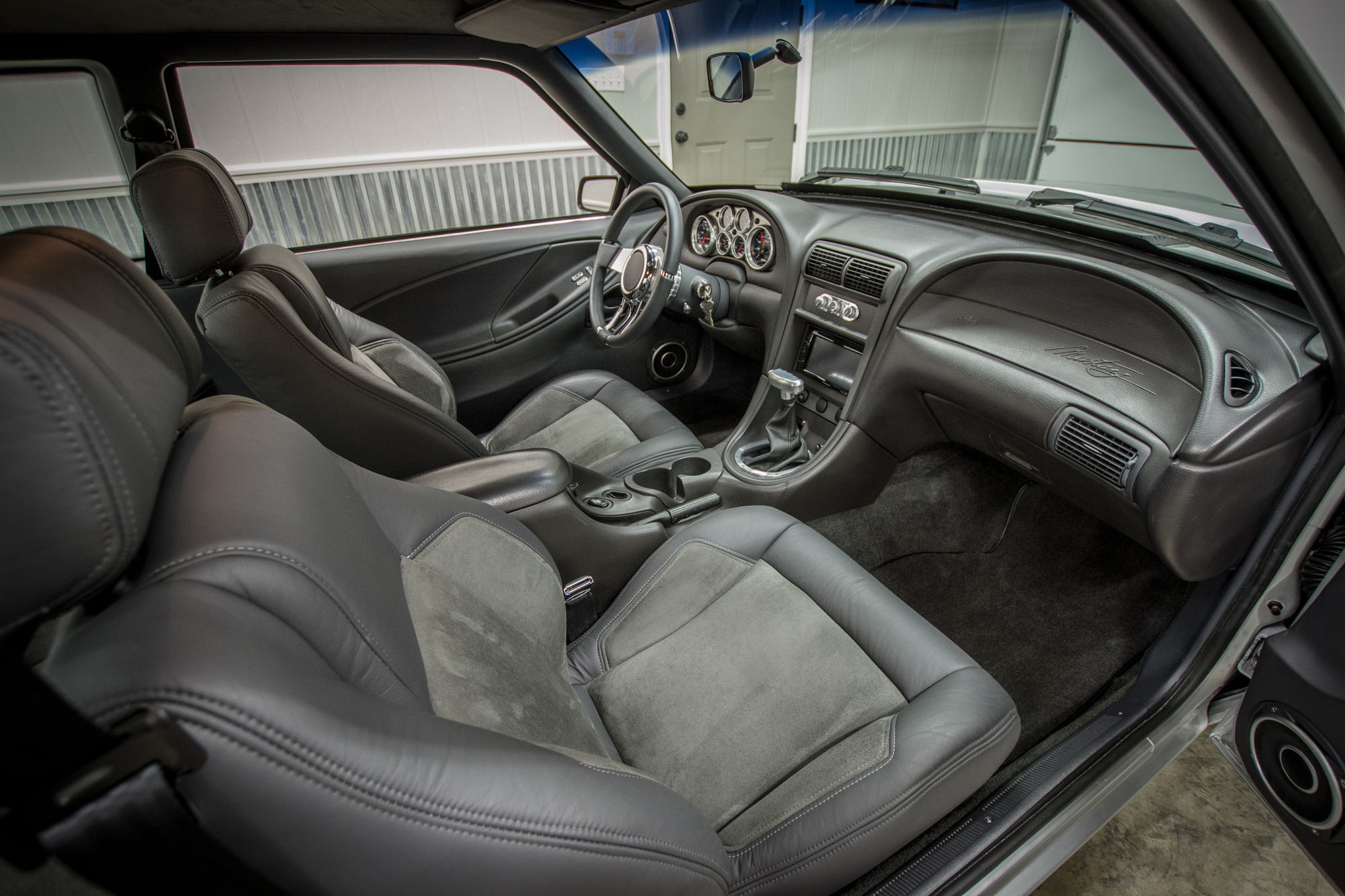 1991 Notchback Mustang interior