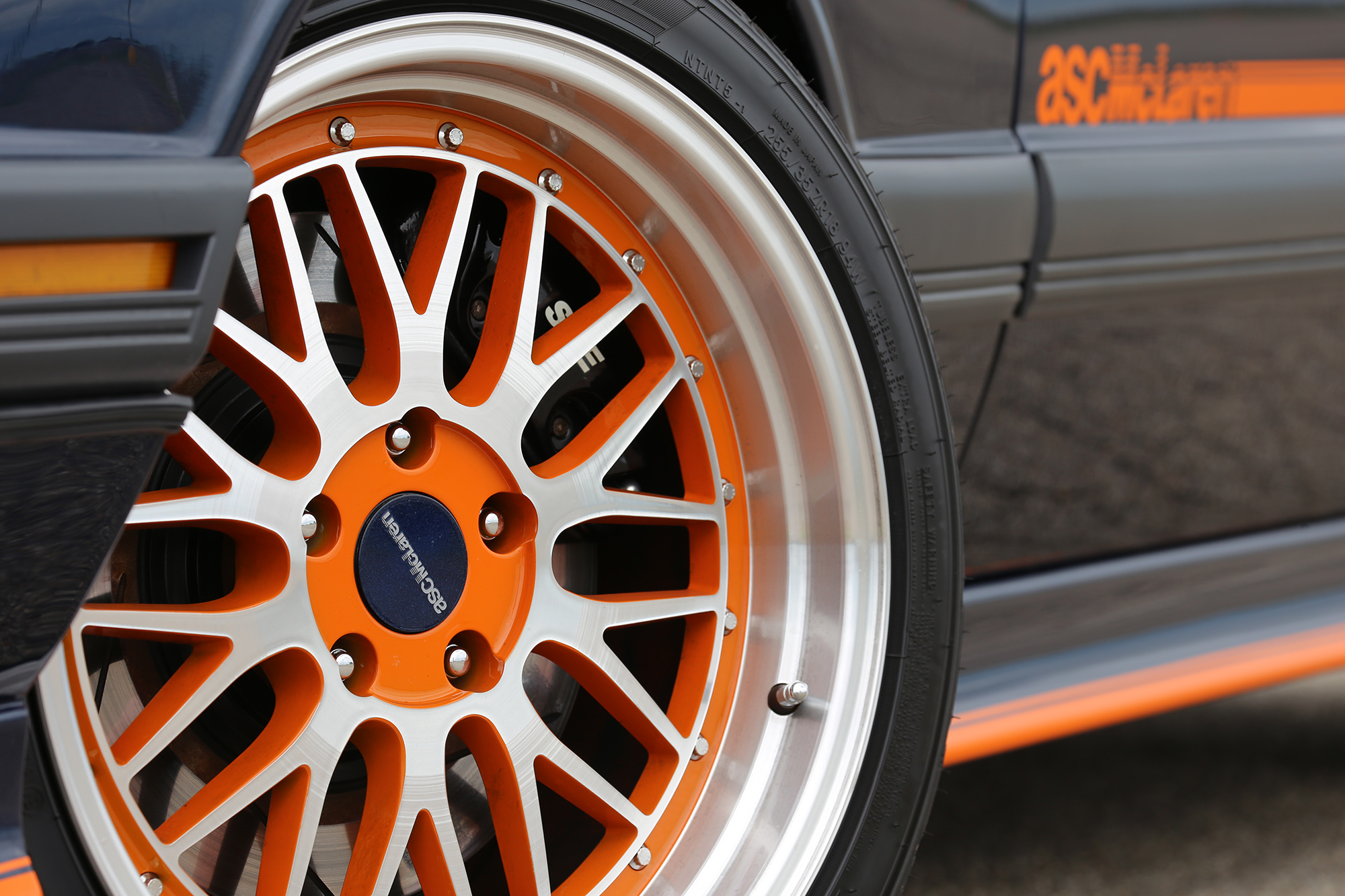 1985 ASC McLaren Wheel