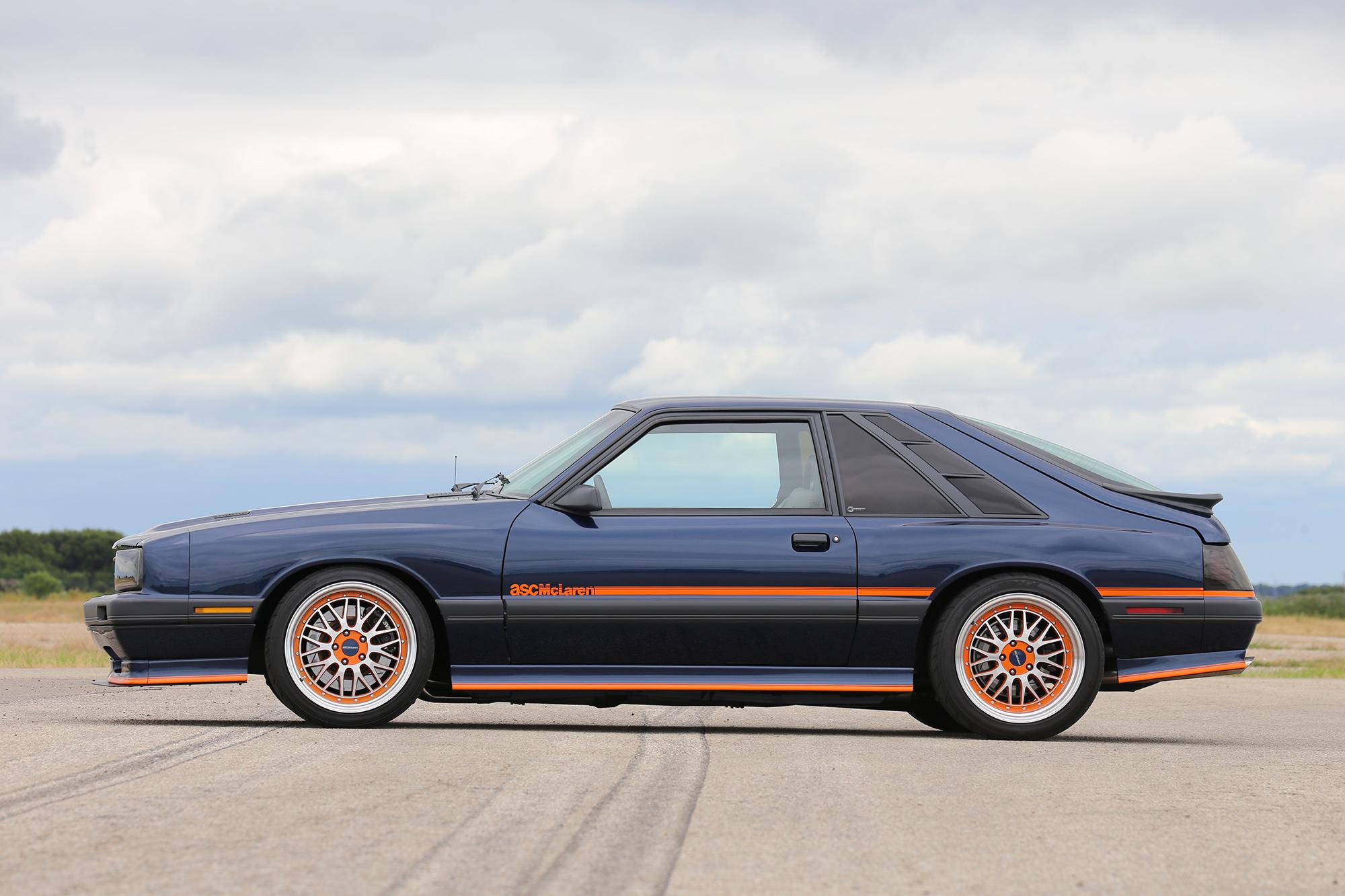 1985 ASC McLaren side profile