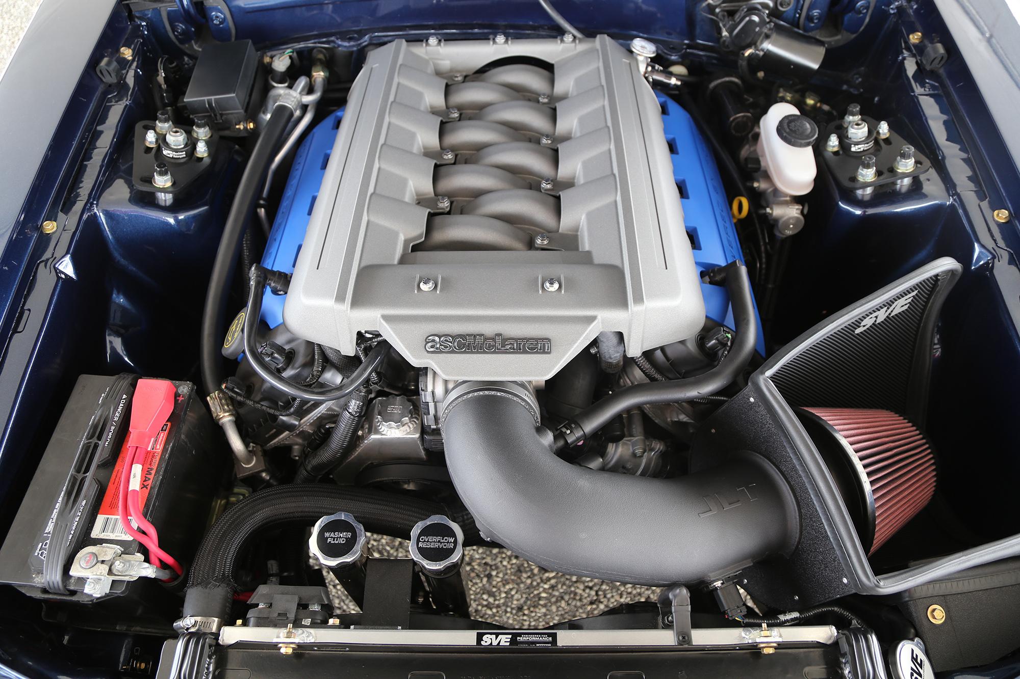 1985 ASC McLaren Engine