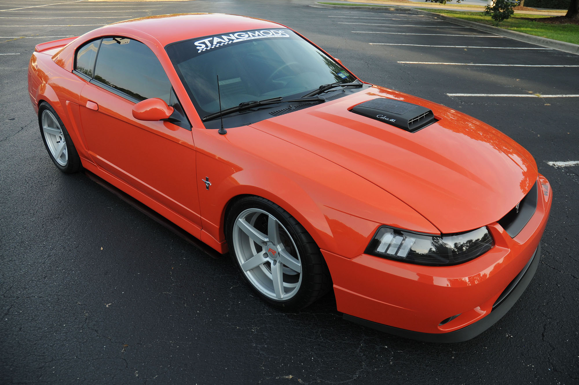 2004 Mustang Mach 1 front 3/4