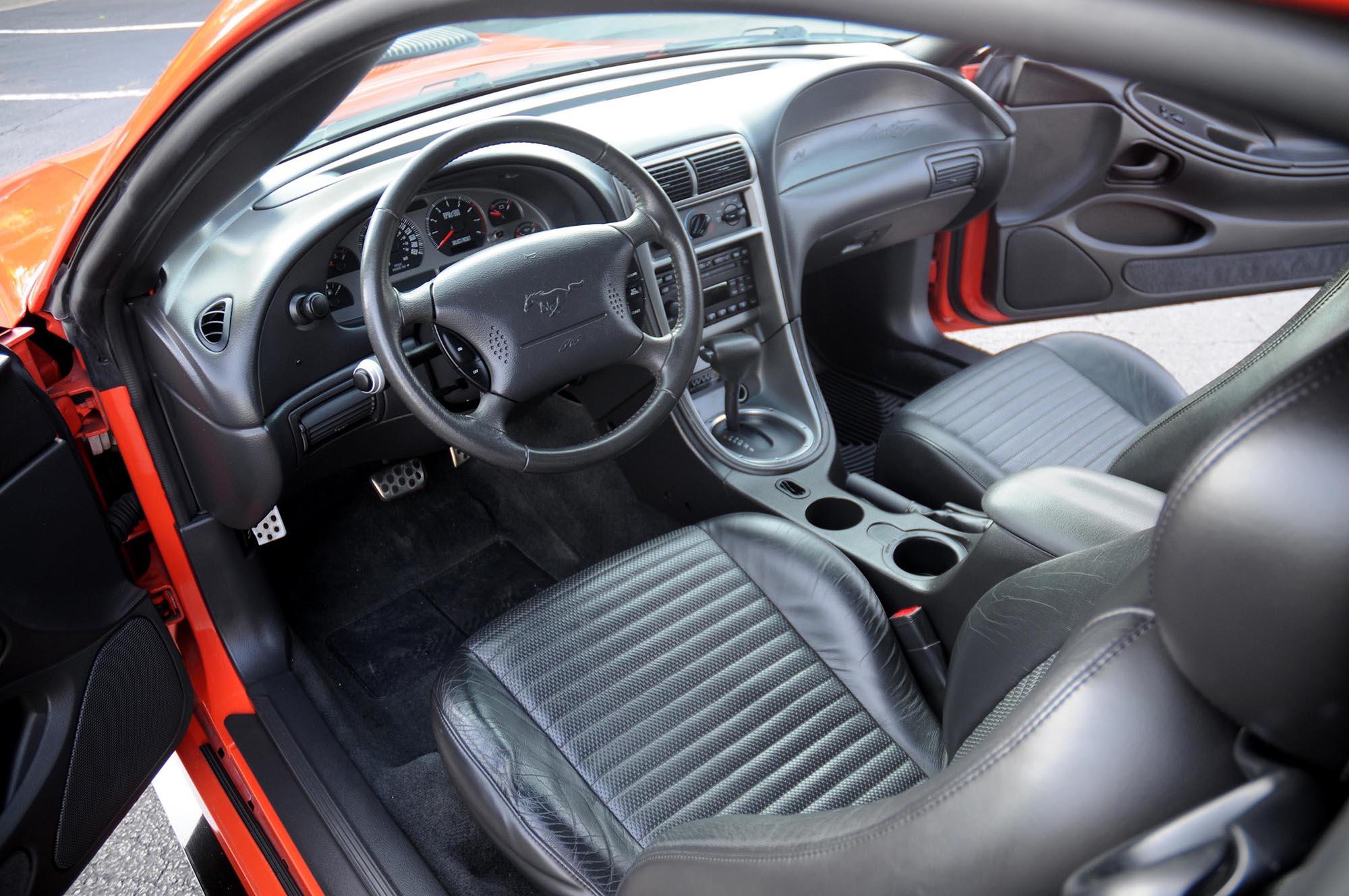 2004 Mustang Mach 1 interior