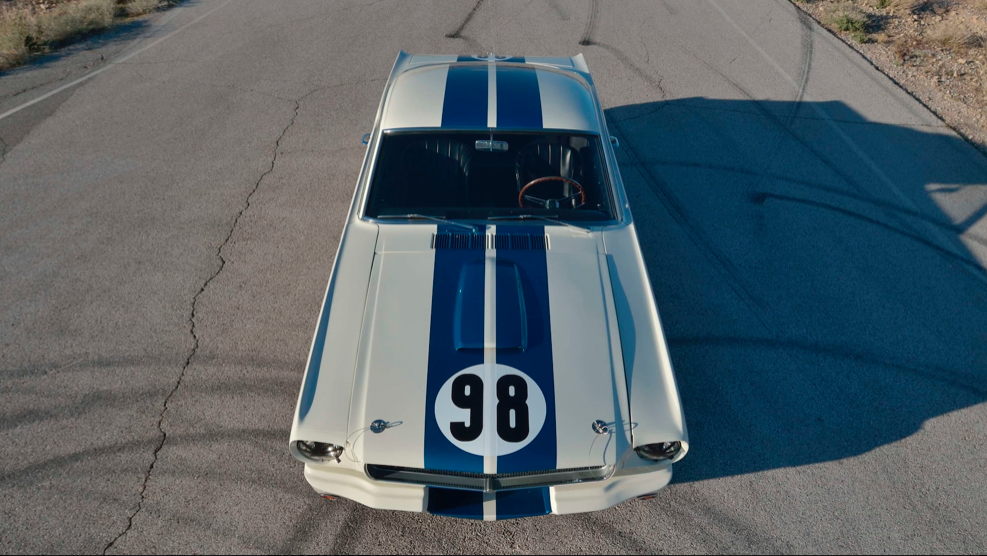 1965 Shelby GT350R Prototype high front view