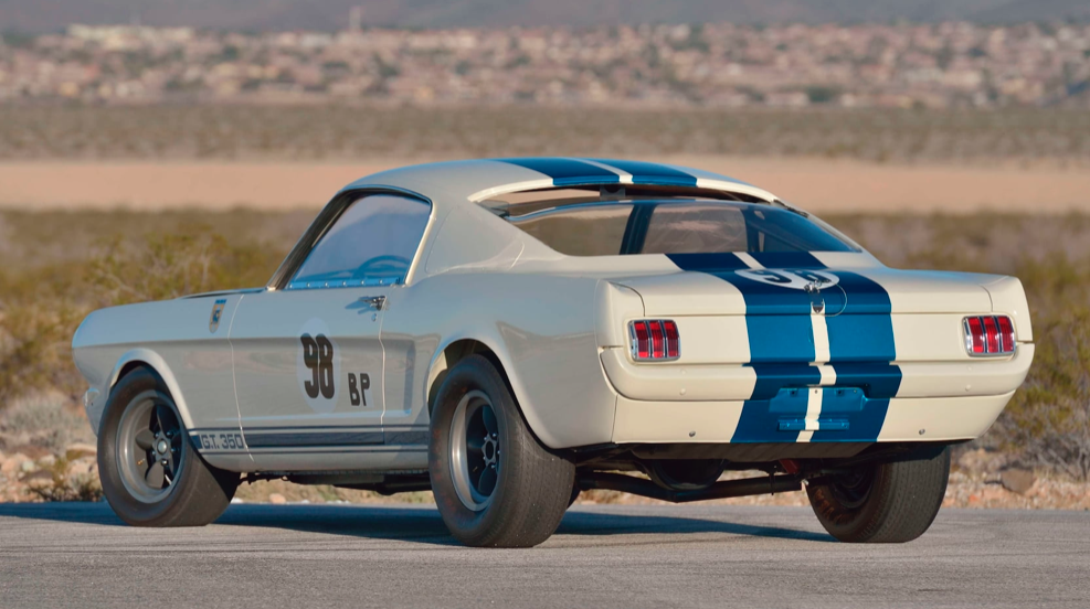 1965 Shelby GT350R Prototype rear view