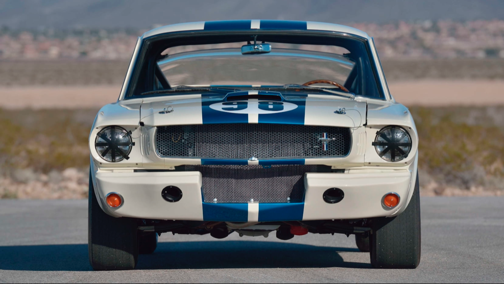 1965 Shelby GT350R Prototype front view