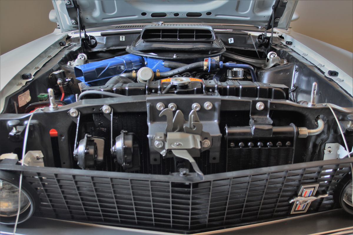 1969 Shelby Mustang Mach 1 engine front