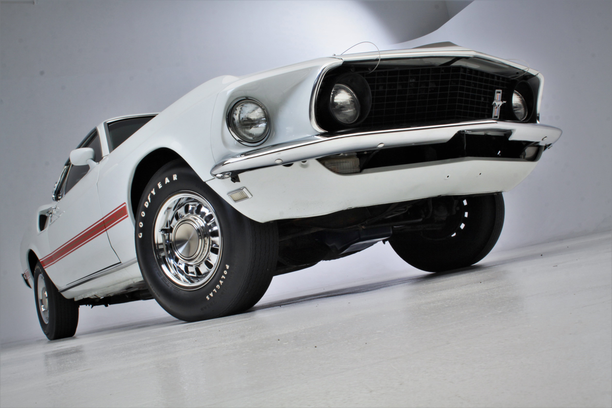 1969 Shelby Mustang Mach 1 low front