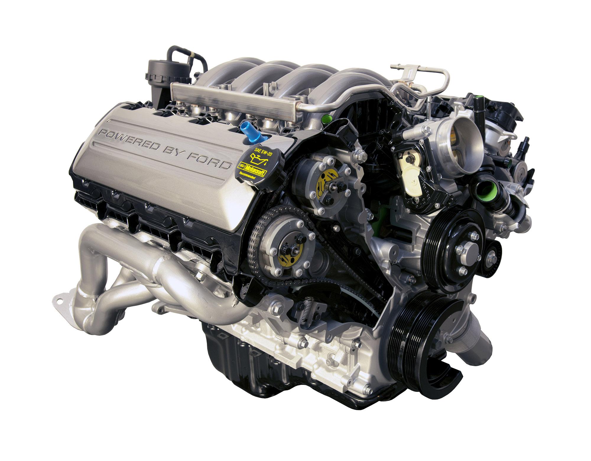 2020 Mustang GT Coyote Motor