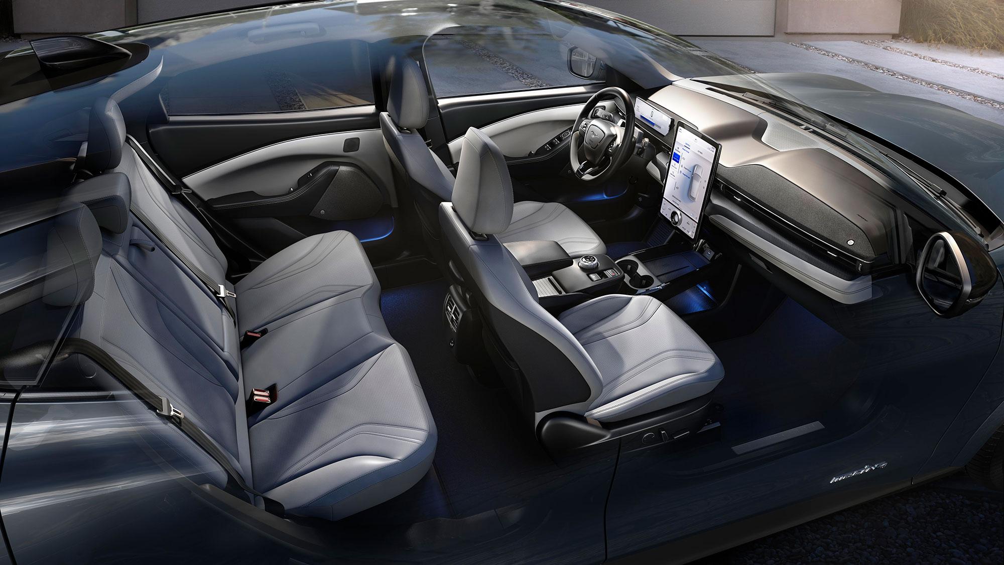 2021 Mustang Mach-e interior