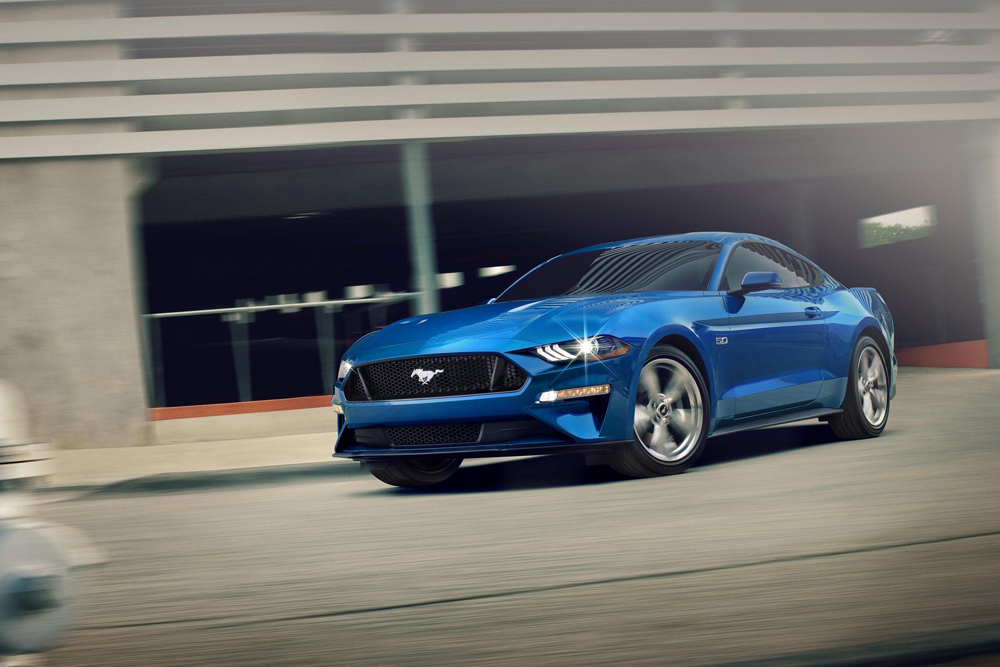 2021 Mustang Mach-e front