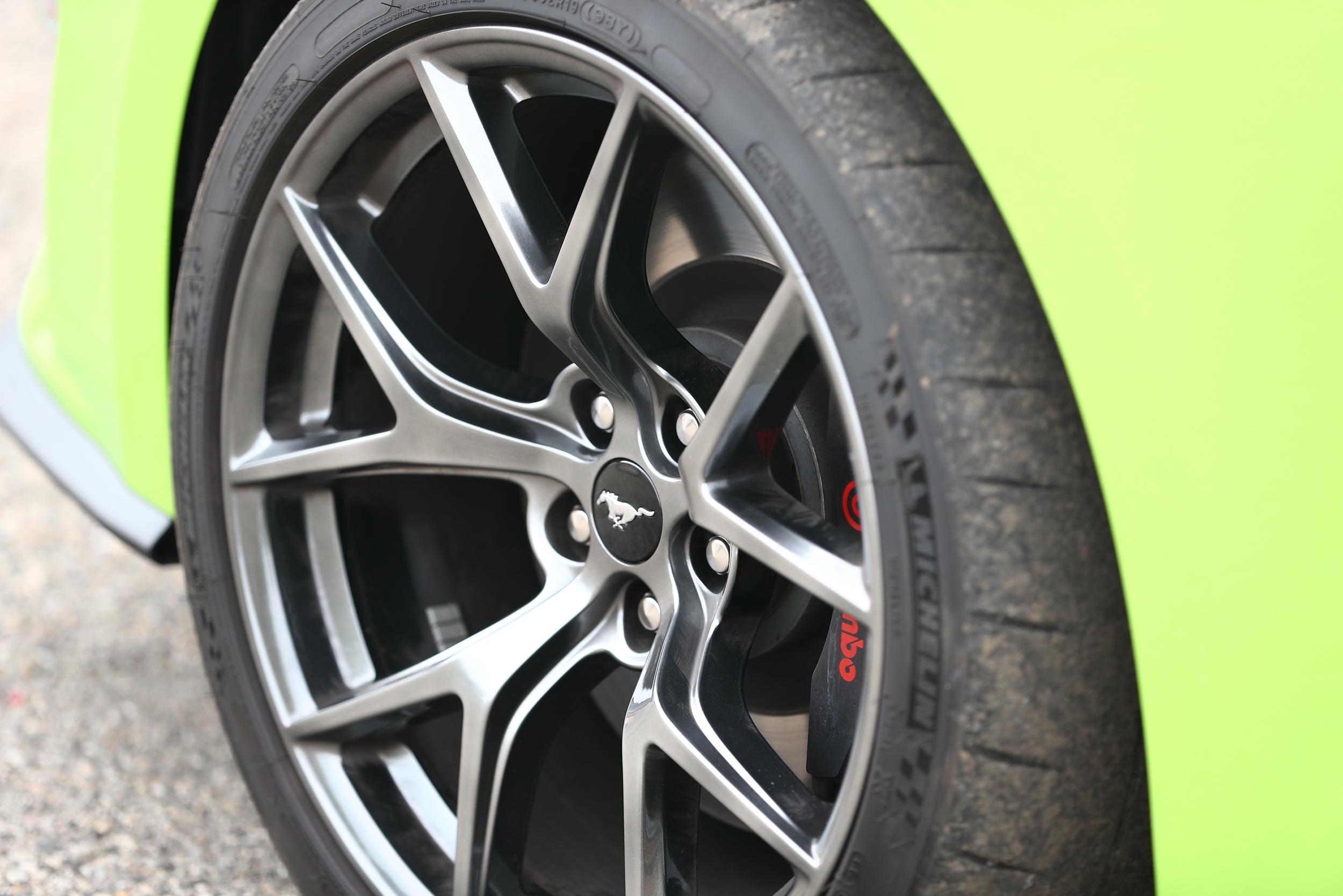 GRABBER LIME GOODNESS 2020 Mustang GT PP2 Rims