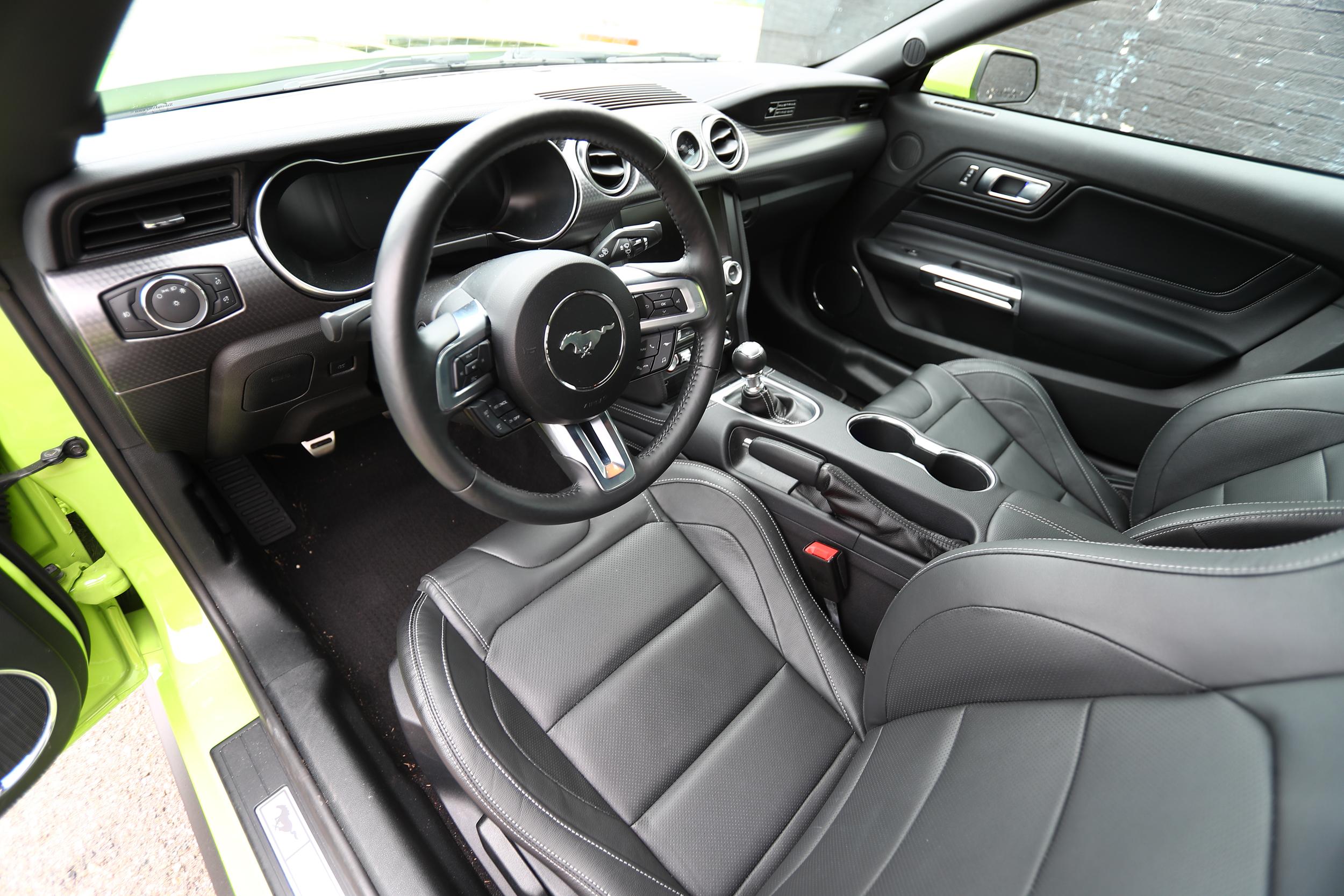 GRABBER LIME GOODNESS 2020 Mustang GT PP2 Interior