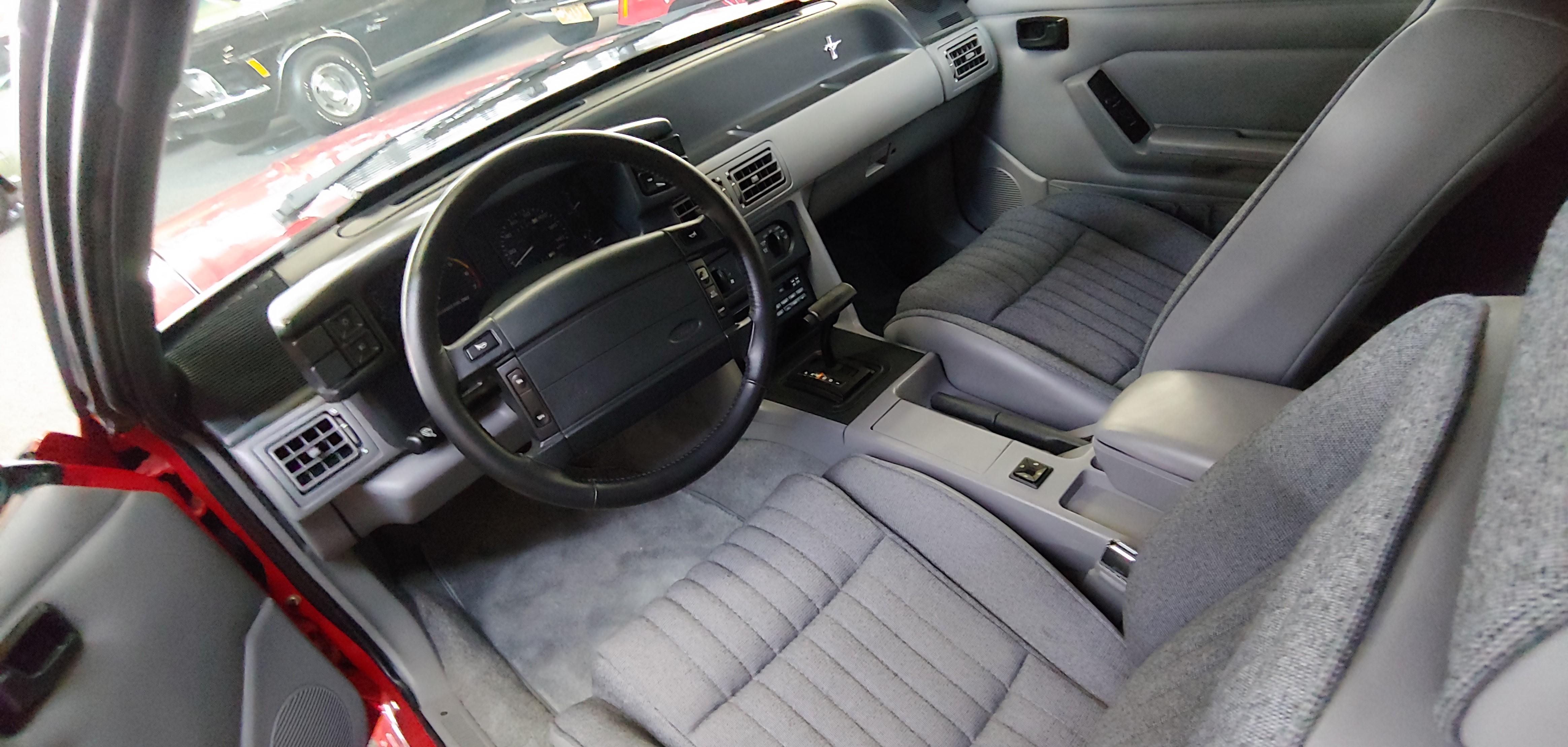 Mustang Foxbody interior
