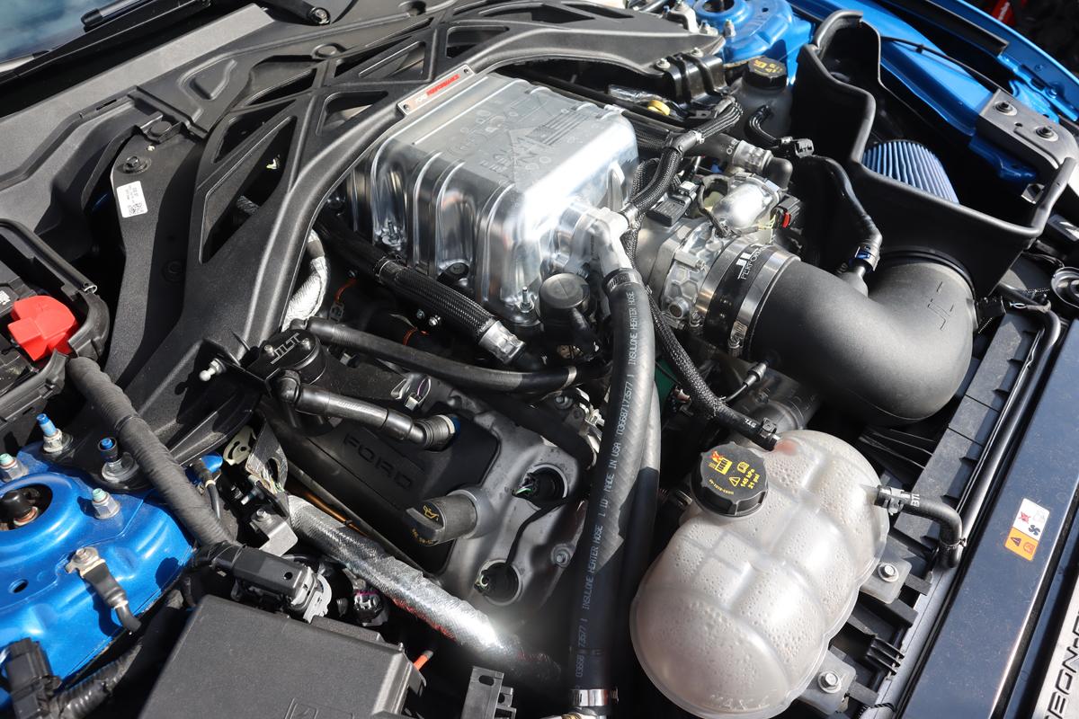 1,100-horsepower 2020 Shelby GT500 Predator motor