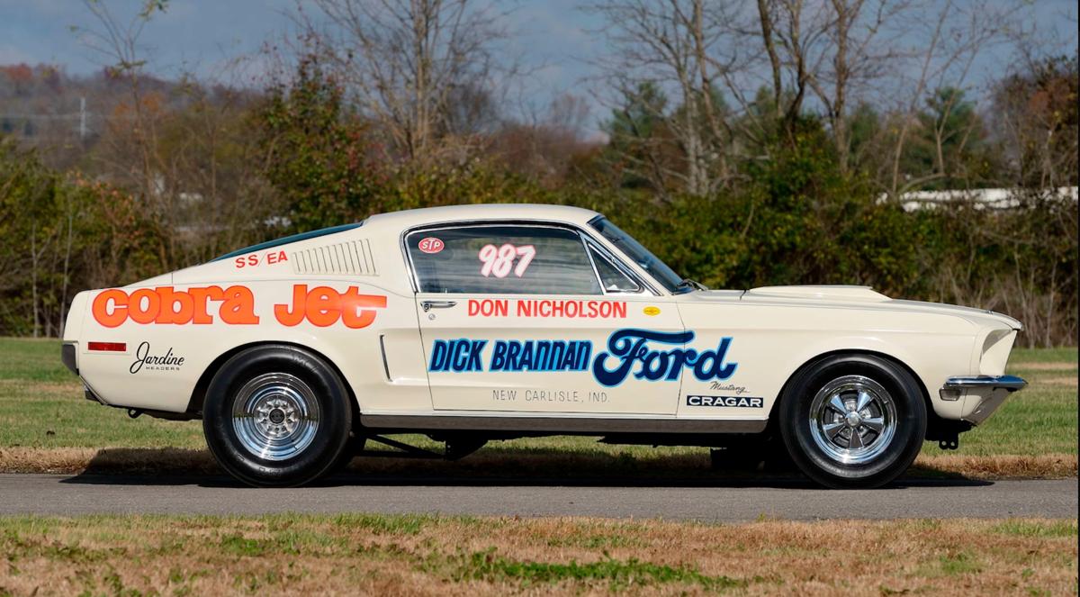 1968 Ford Mustang Cobra Jet (LOT S164)