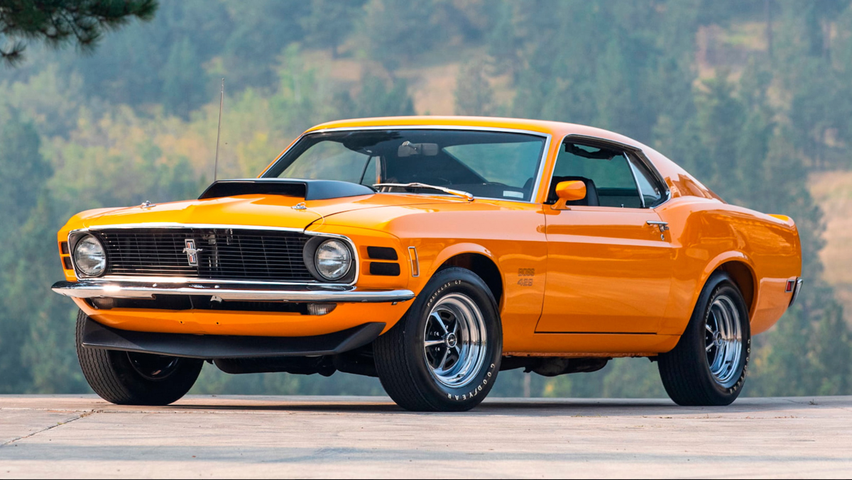 1970 Ford Mustang Boss 429 (LOT F120)