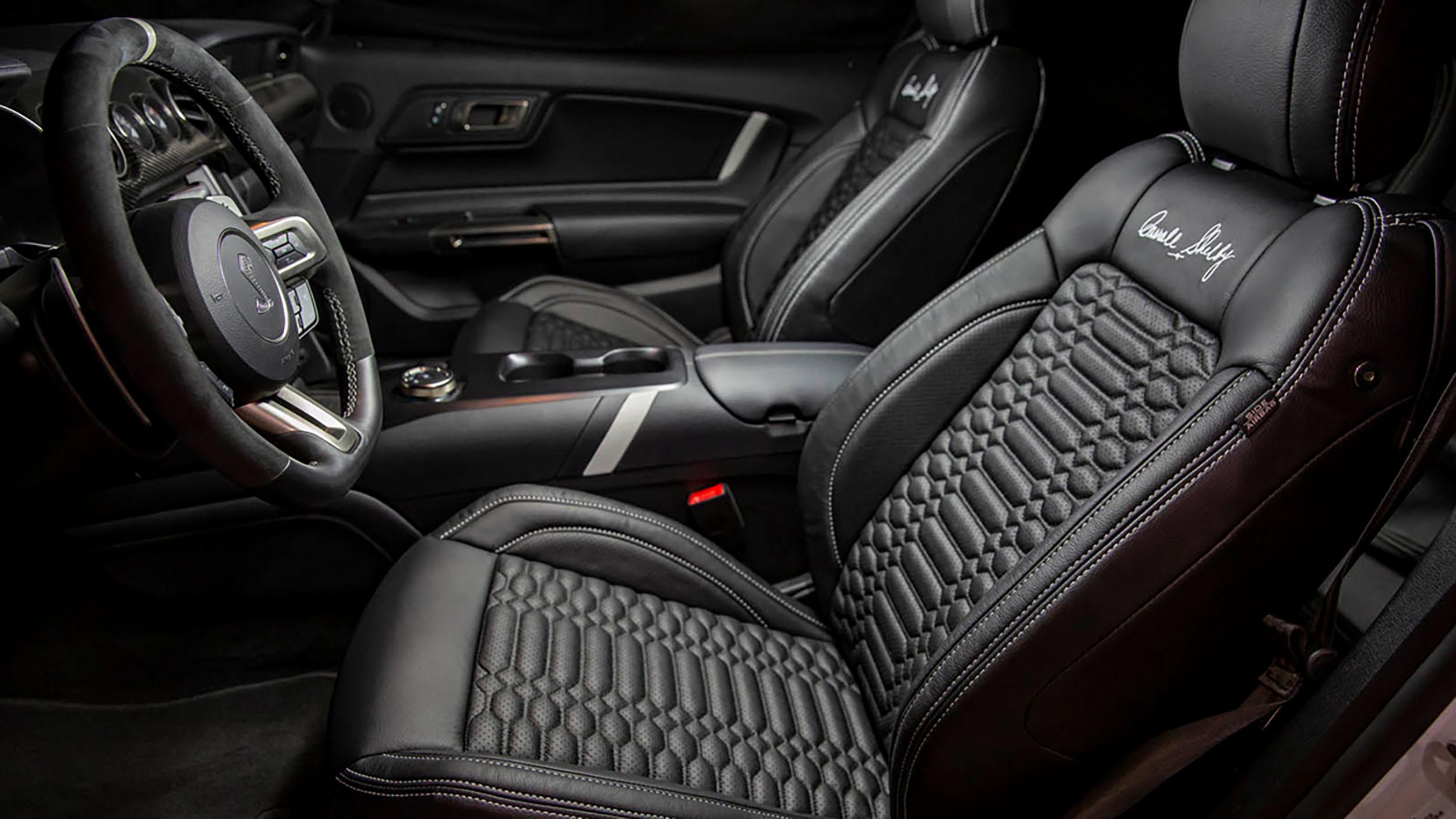 2021 Shelby GT500 interior