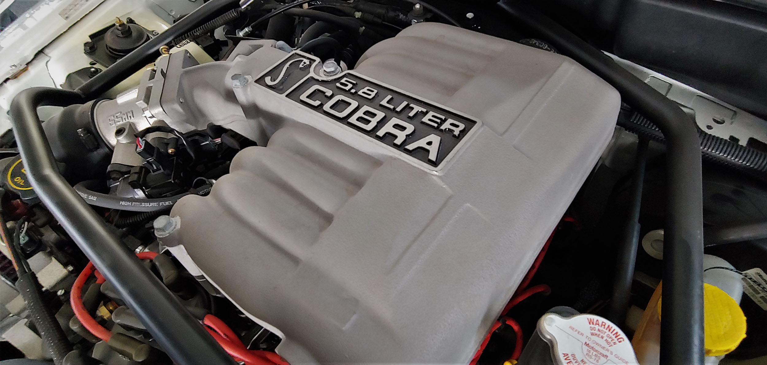 199 Cobra R engine top