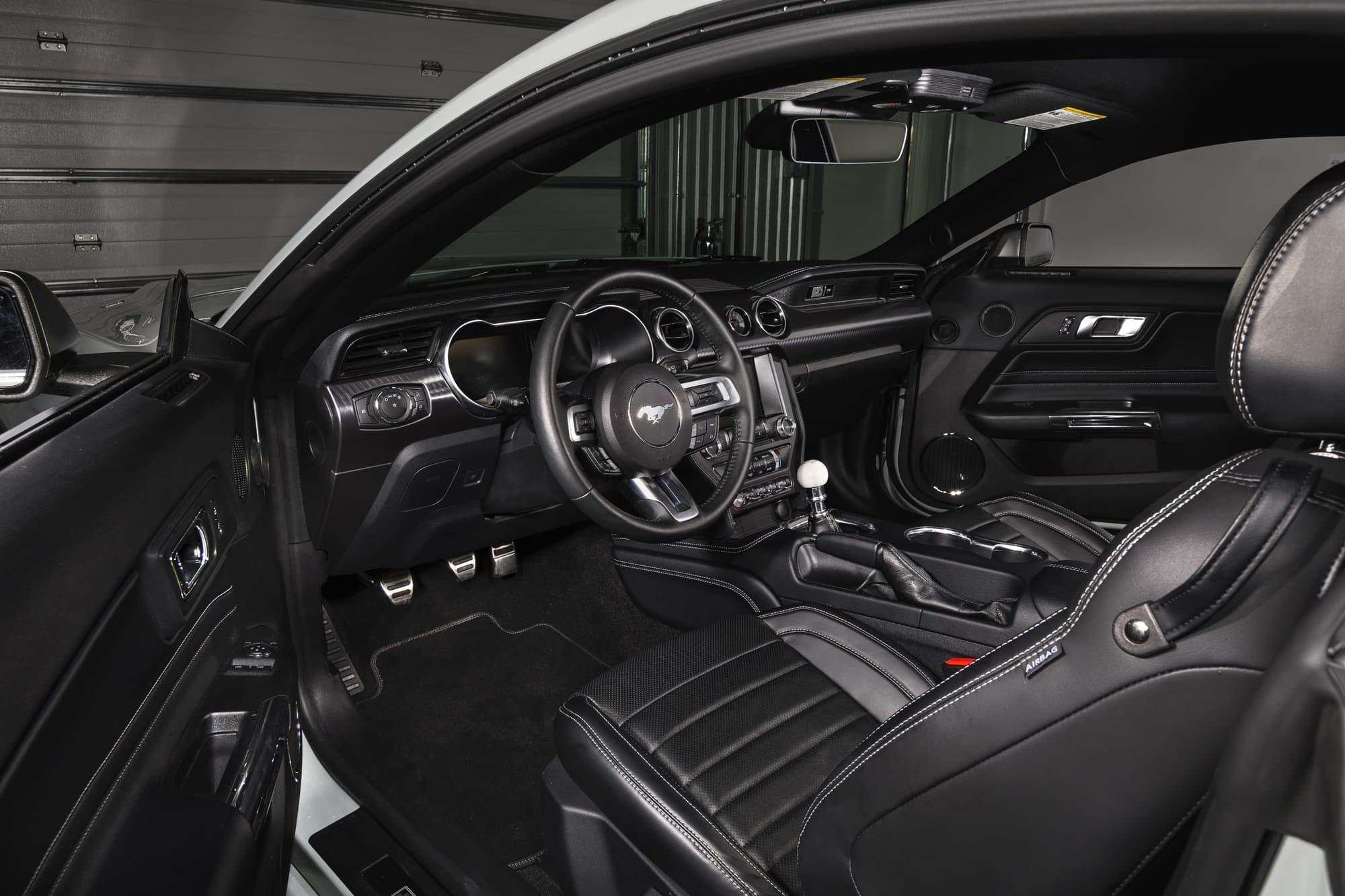 2021 Mustang Mach 1 interior
