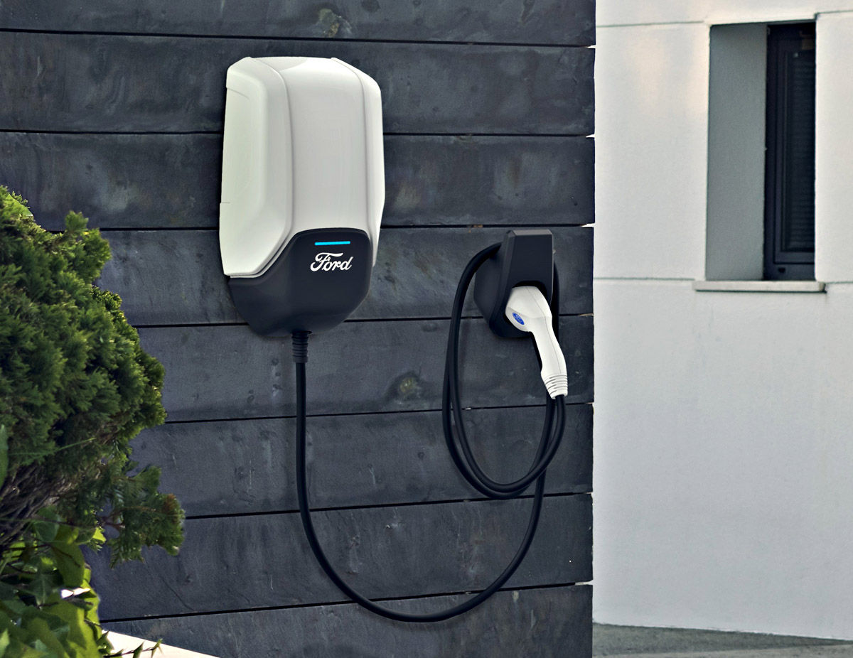 Ford electric charging station