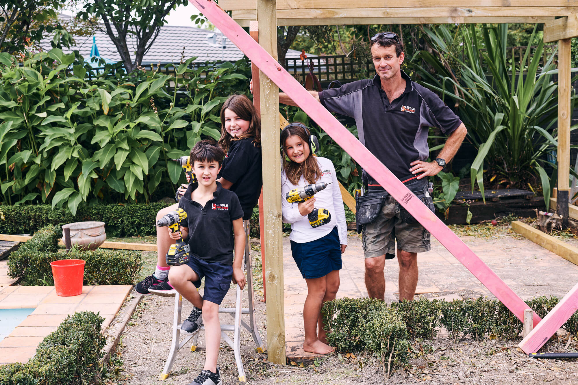 Rob Liddle and Family
