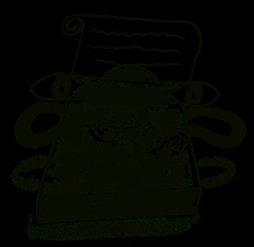 a typewriter typing itself