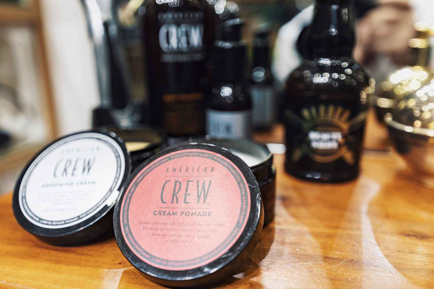 American Crew Hair Products. Hair Pomade, Hair Fibre, Hair Clay.