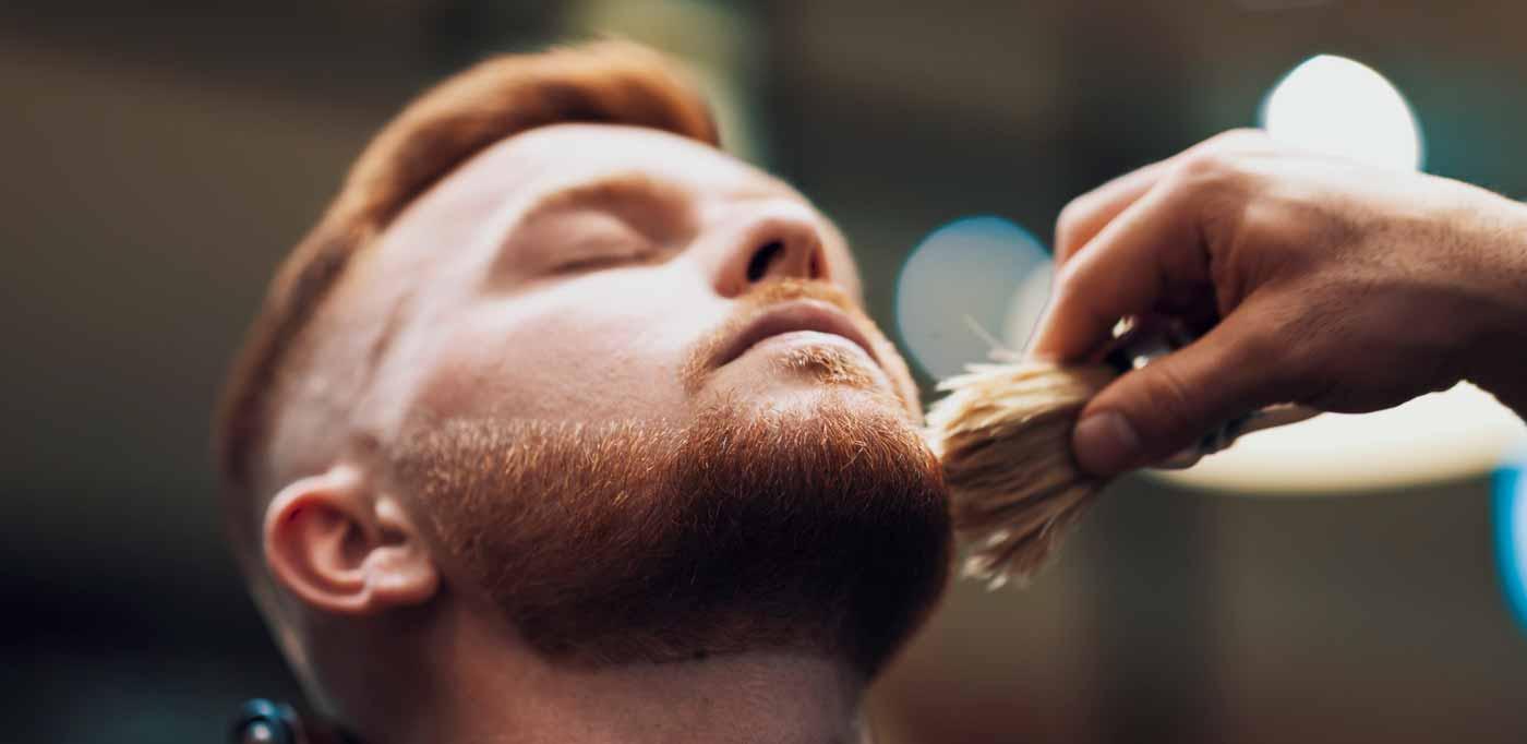 The Shaving Process - Shaving Brush