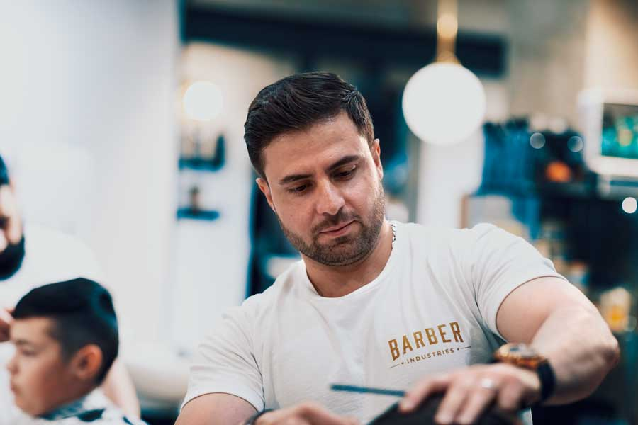 Meet The Barber - Matt At Barber Industries Charlestown