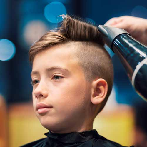 Customer in Barbershop in Prestons NSW