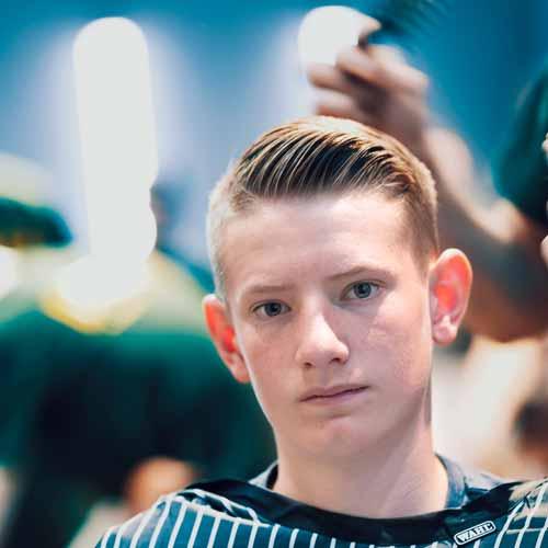 Customer in the Barbershop in Orange NSW