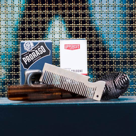 Cologne and Combs for grooming needs