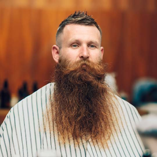 Growing a beard for beard season