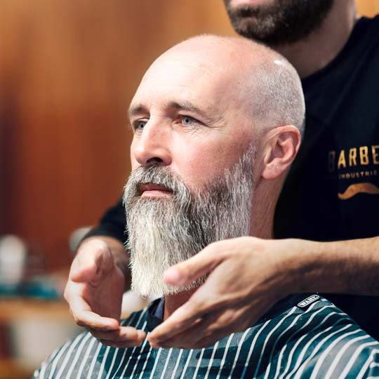 Beard trimming by Newcastles best barbers