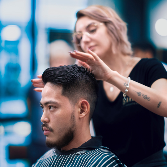 Recharging with Sydney's Best Barbers
