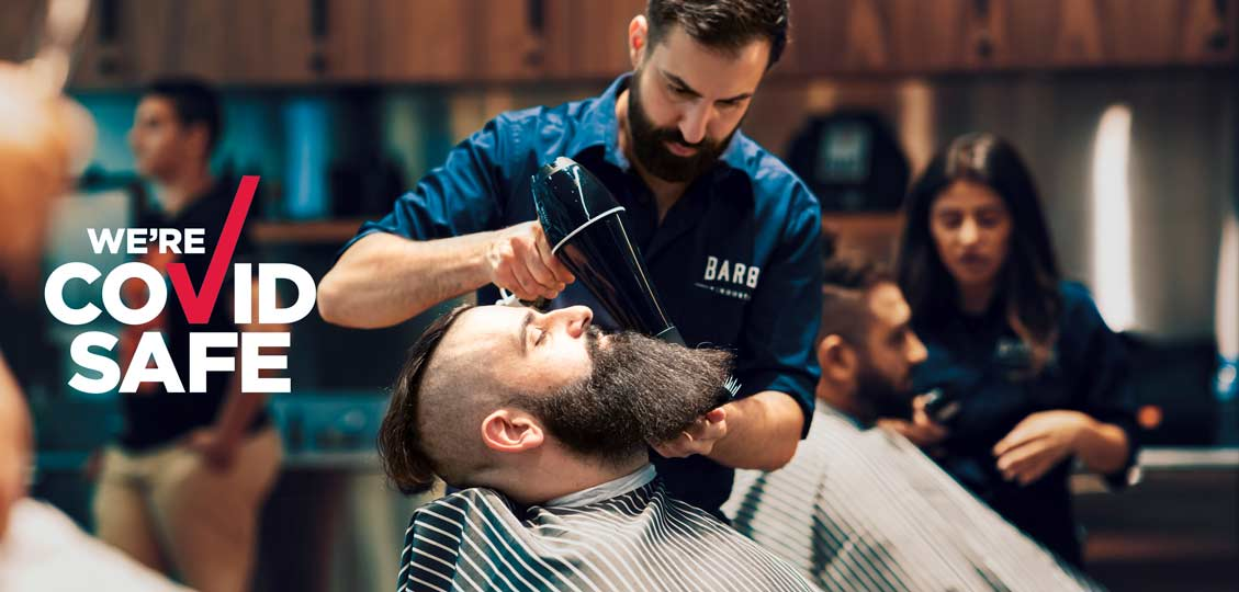 Sydney's Best Barbers Talk Covid-19 and finding the silver lining.