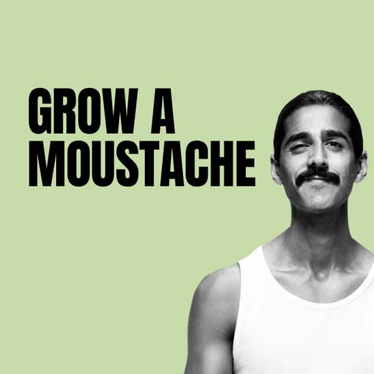 Grow a moustache for Movember