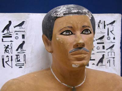 Egyptian Prince Rahotep With Moustache