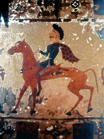 The Pazyryk Horseman