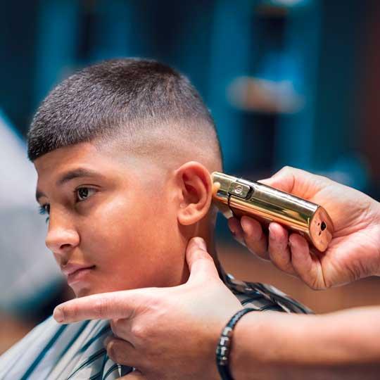 Barber working at new barbershop in Westfield Tuggerah