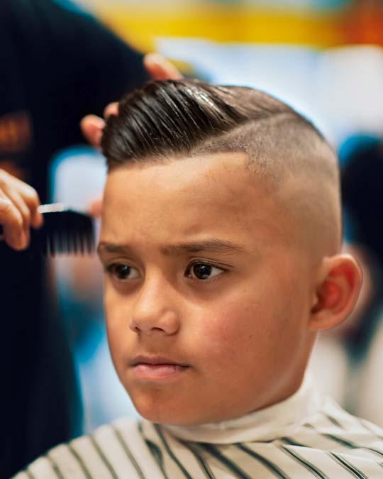 Boys back to school haircuts