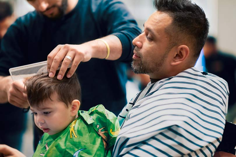 First Haircuts for boys