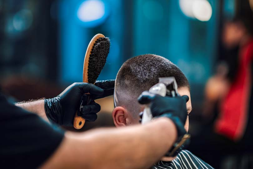 high fade hairstyle
