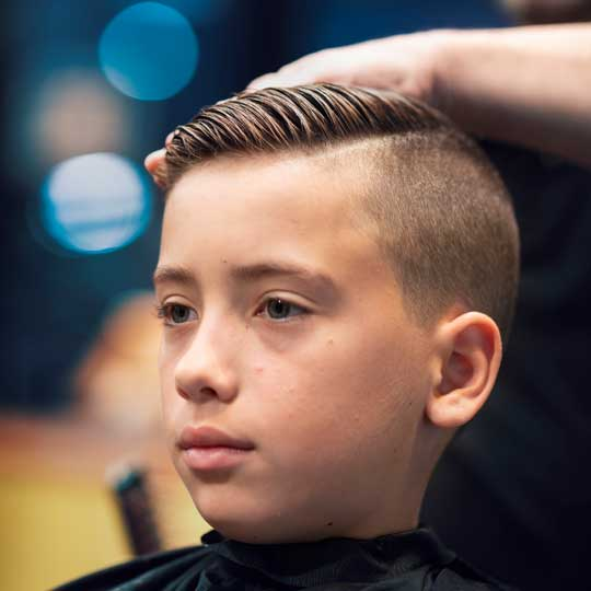 the trendiest haircuts for young boys