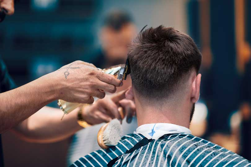 Haircuts with Perth's best barbers