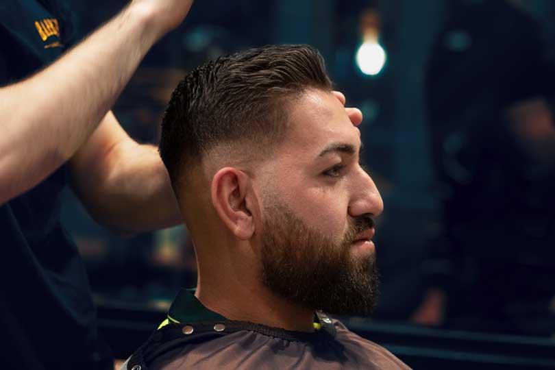 Skin Fade To Beard Fade Combo