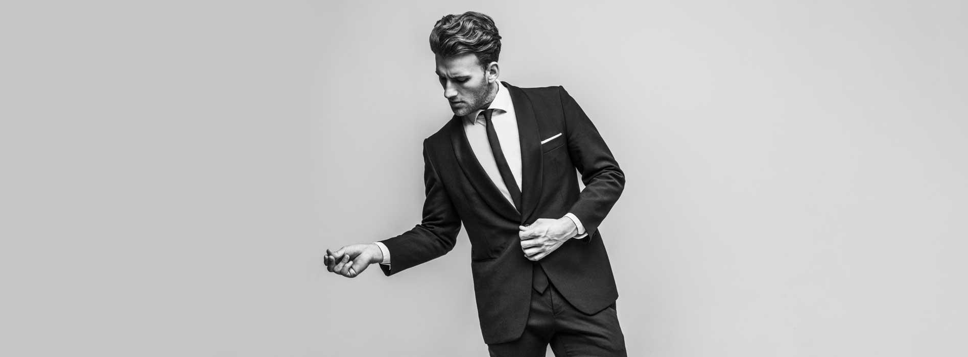 Stylish Man In Men's Fashion Dress