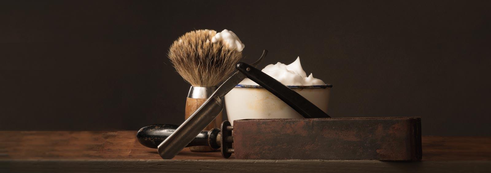 Traditional Razor and Shaving Tools At Parramatta Barbershop