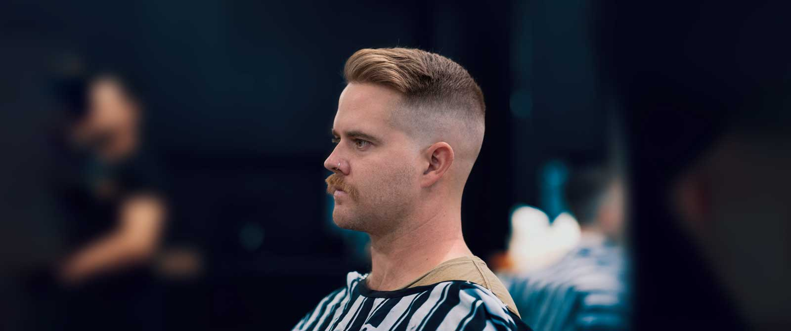 Trending Hairstyles - Quiff High Skin Fade
