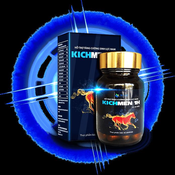 5. KICHMEN 1H- thuốc tăng cường sinh lý nam giới tốt nhất